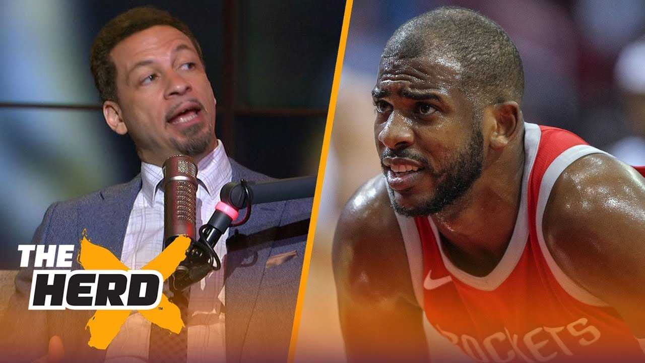 Chris Broussard on Lakers' drama deterring LeBron, Chris Paul supermax demands   NBA   THE HERD