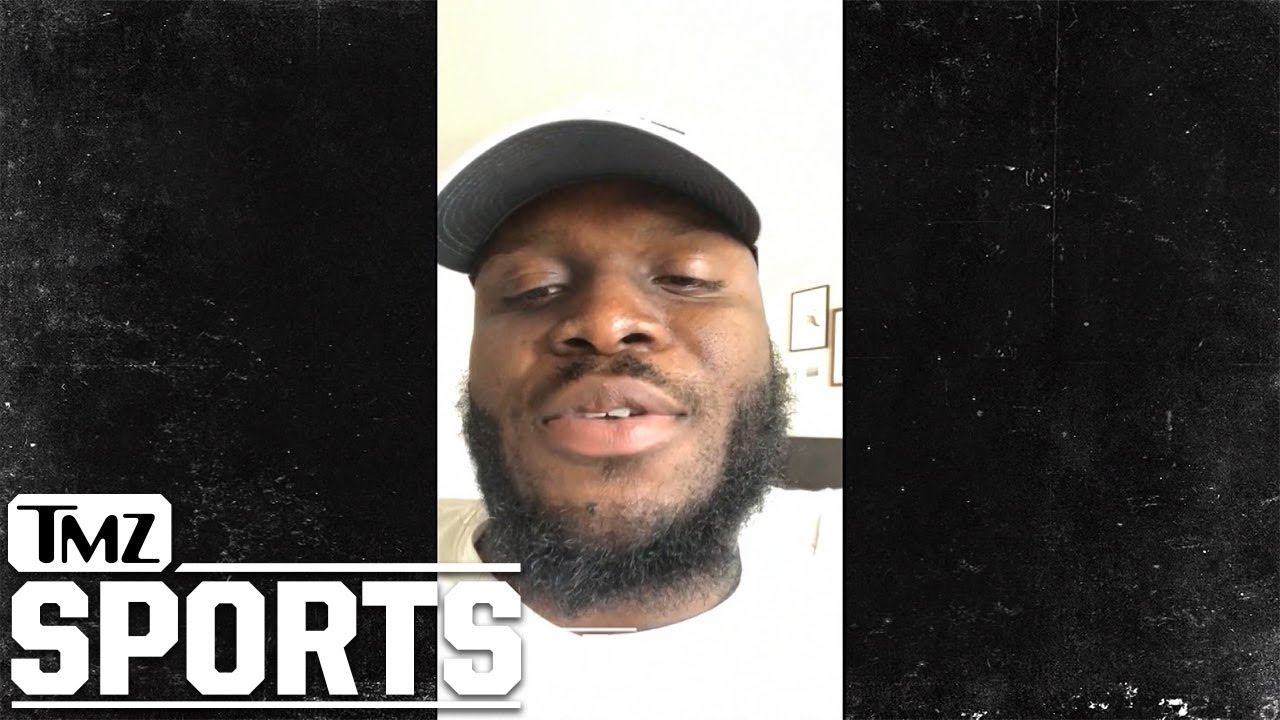 Derrick Lewis Has A Message for Francis Ngannou | TMZ Sports
