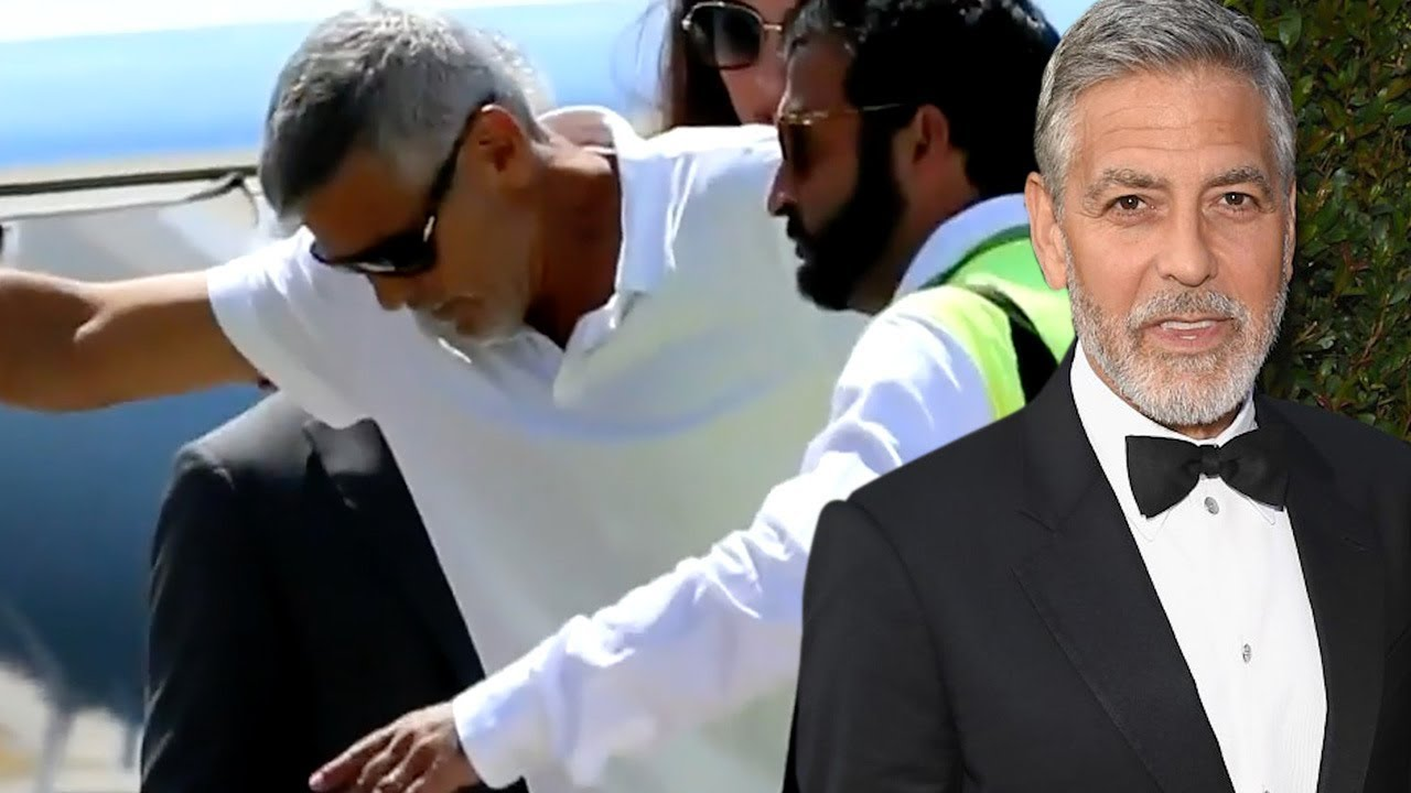 George Clooney Accident: See First Photos of the Actor After the Incident