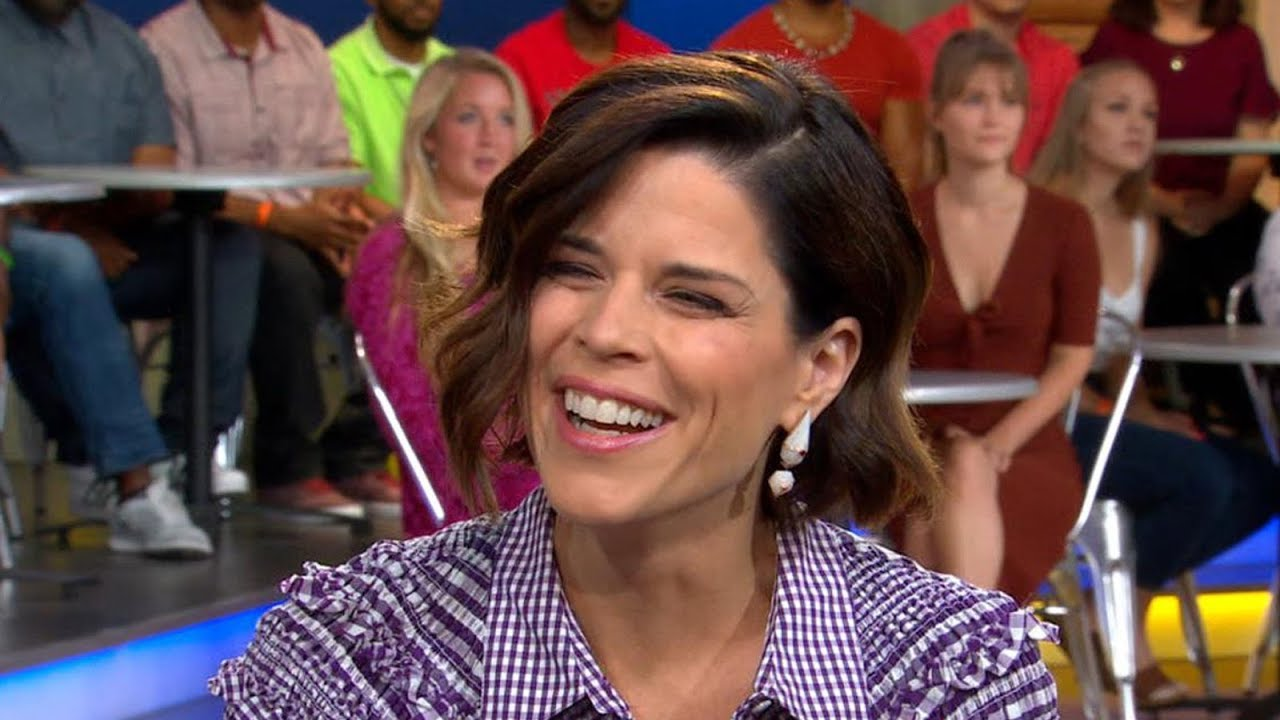 'GMA' Hot List: Neve Campbell reveals how her son found out she's an actress