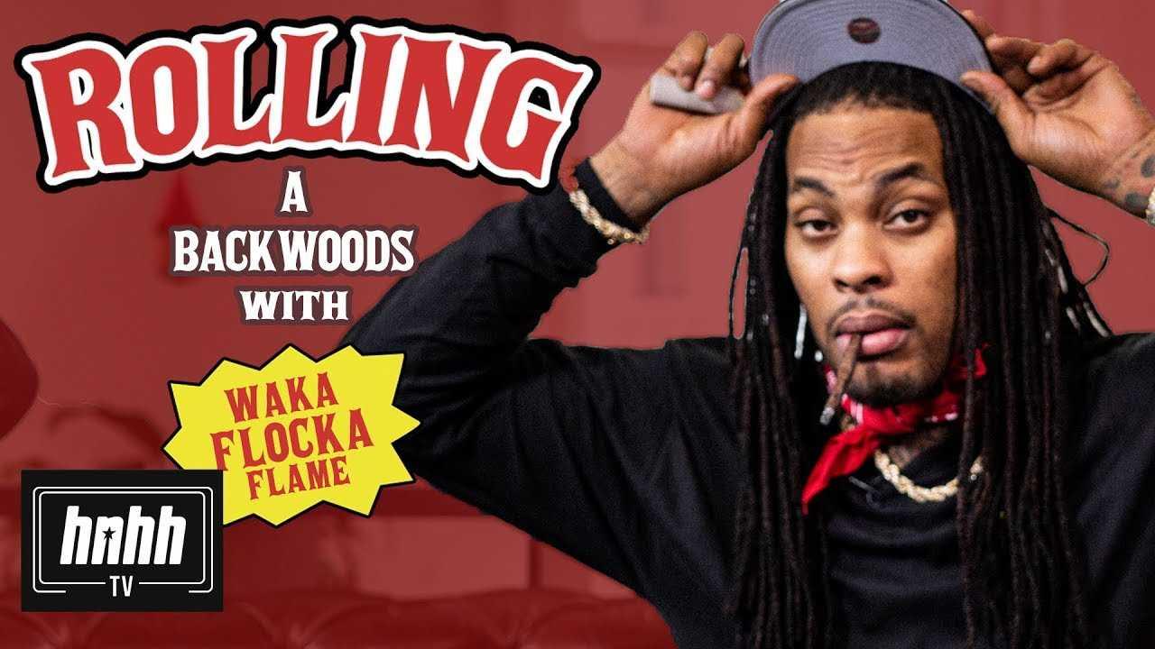 How to Roll a Backwoods with Waka Flocka Flame (HNHH)