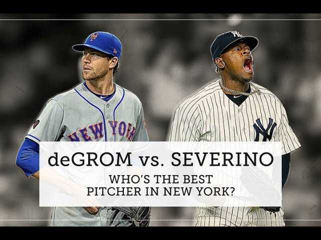 Jacob deGrom vs. Luis Severino: Who ya got?