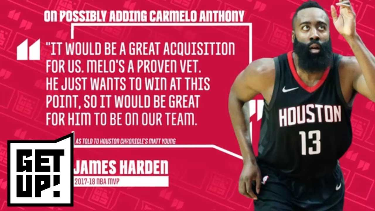 Jalen Rose has 'no doubt' Carmelo Anthony will be a Houston Rocket | Get Up! | ESPN