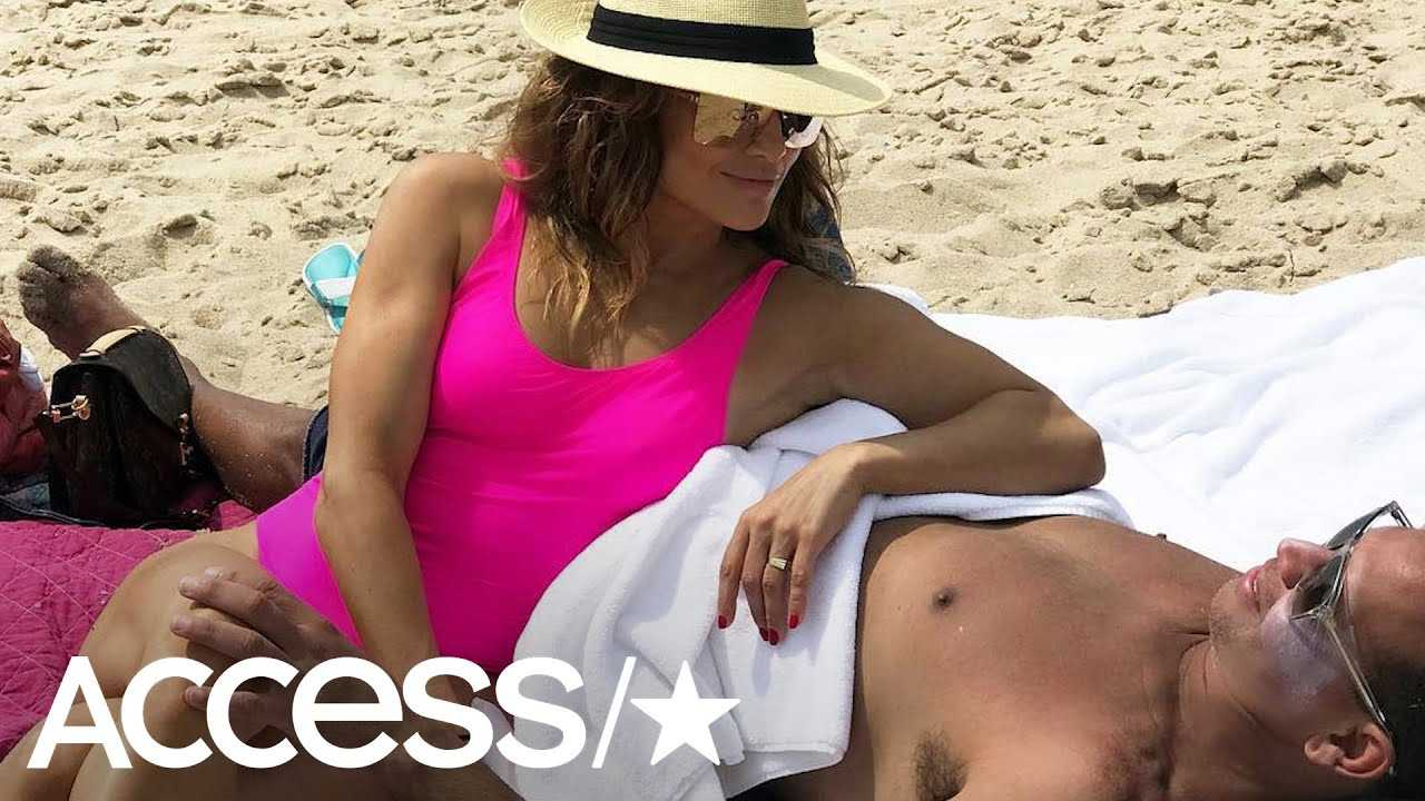 Jennifer Lopez Celebrates Her 49th  Birthday With A-Rod & Kids At The Beach