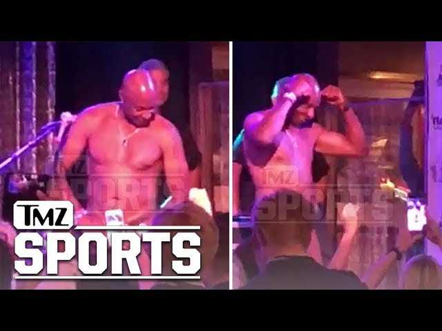 Jerry Rice Busts Out Topless Tahoe Stripper Moves Again   TMZ Sports