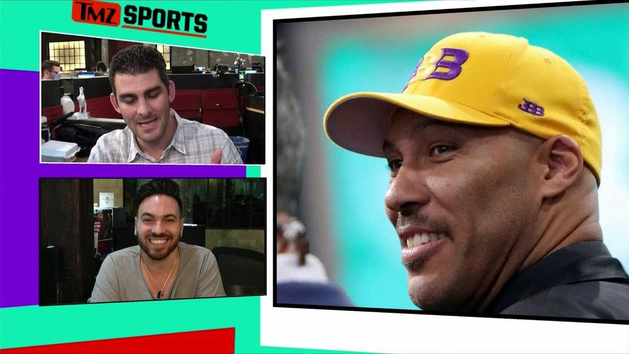LaVar Ball Stoked About LeBron James, Lakers Will Destroy Warriors! | TMZ Sports