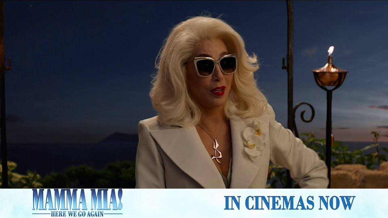Let's get the party started. #MammaMia2