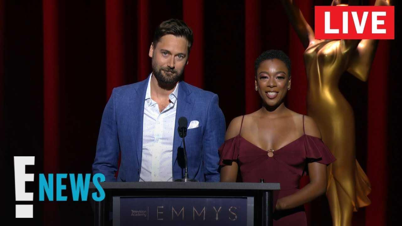 Live From E! - 2018 Emmy Nominations Live Stream   E! News