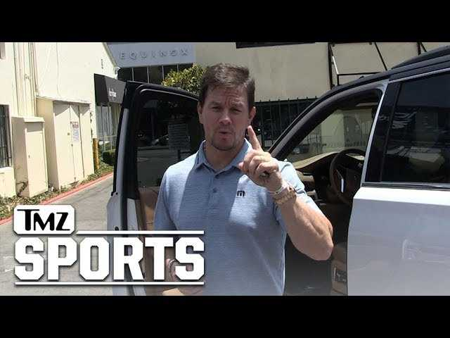Mark Wahlberg Bet Money On Cleveland Browns to Win 6 Games | TMZ Sports