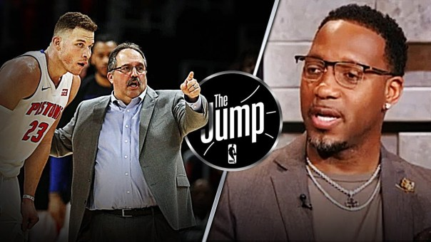 McGrady Thinks Stan Van Gundy Deserved One More Shot With Detroit Pistons | The Jump