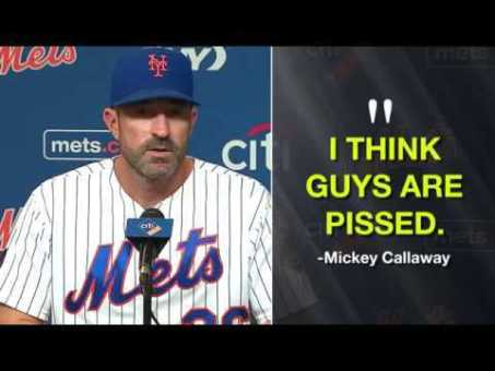 Mickey Callaway: I think guys are pissed (and Zack Wheeler agrees)