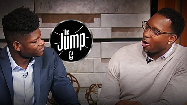 Mo Bamba Talks About Idolizing Joel Embiid & Working Out With Him | The Jump