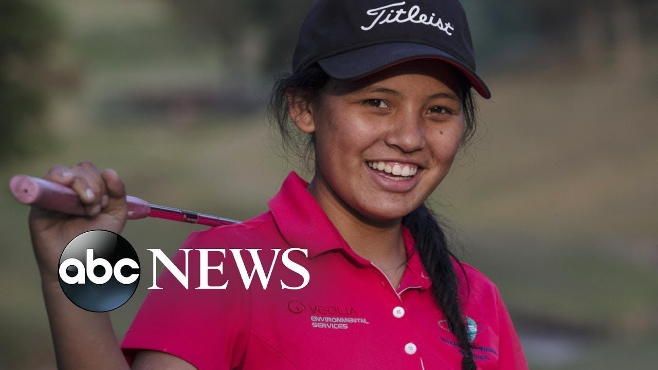 Nepal's best female golfer grew up in a shed and wants to make history