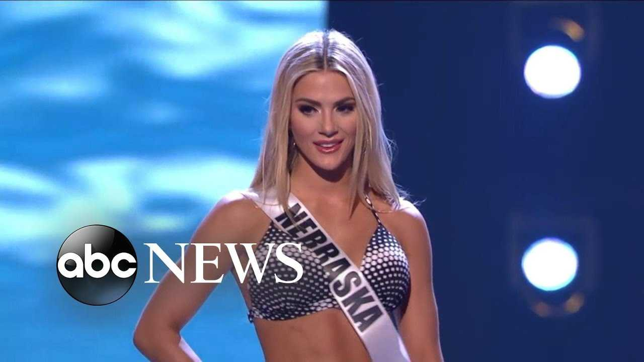Newly crowned Miss USA calls swimsuit competition 'empowering'