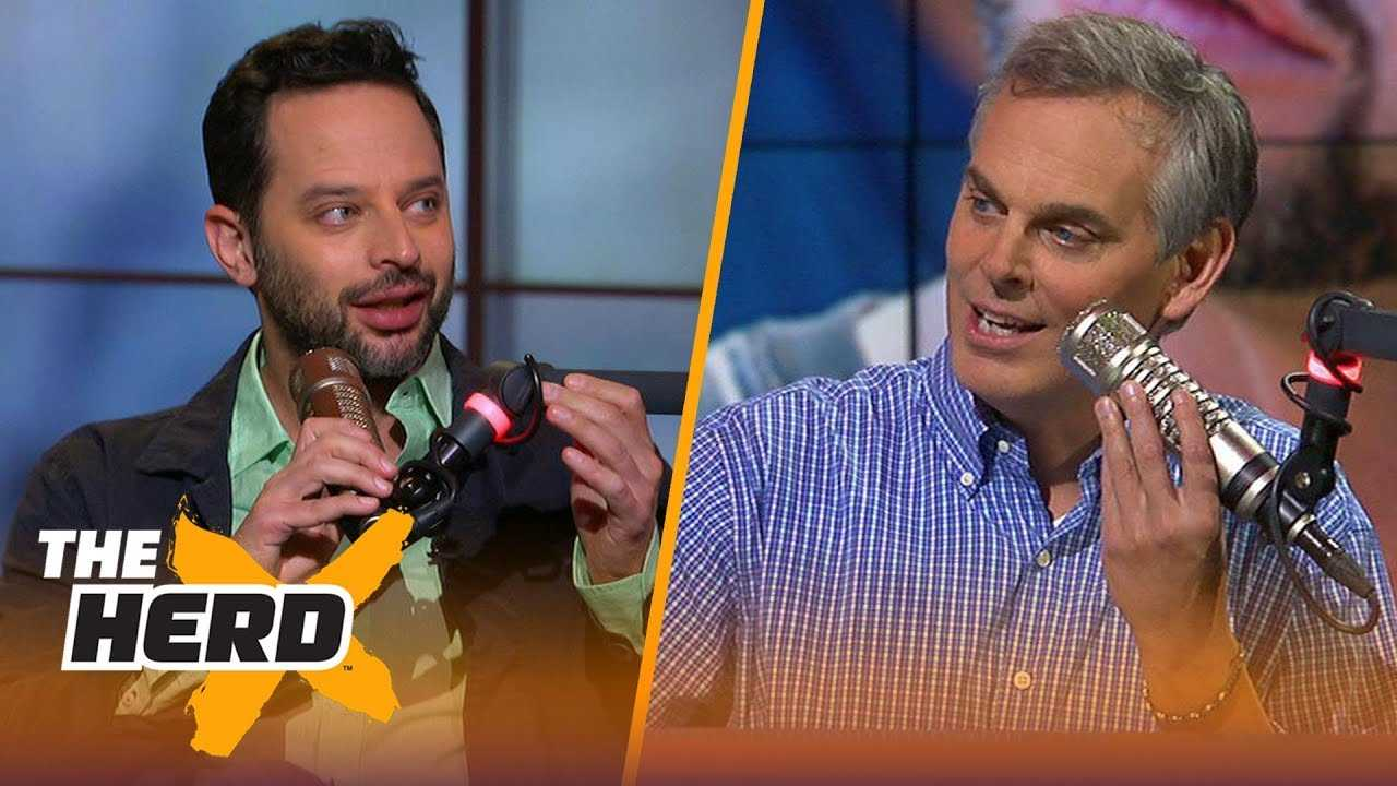 Nick Kroll on ballin' against Kyrie Irving in Uncle Drew, Shaq's acting chops   NBA   THE HERD
