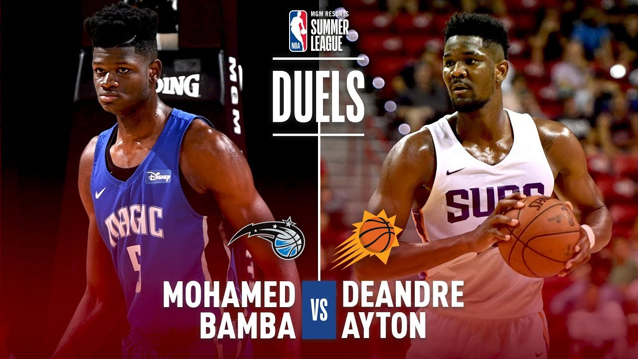 No.1 vs No.6 | Ayton & Bamba Clash In The Paint In the 2018 MGM Resorts Summer League