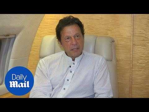 Pakistan's Imran Khan 'confident' he will be prime minister - Daily Mail