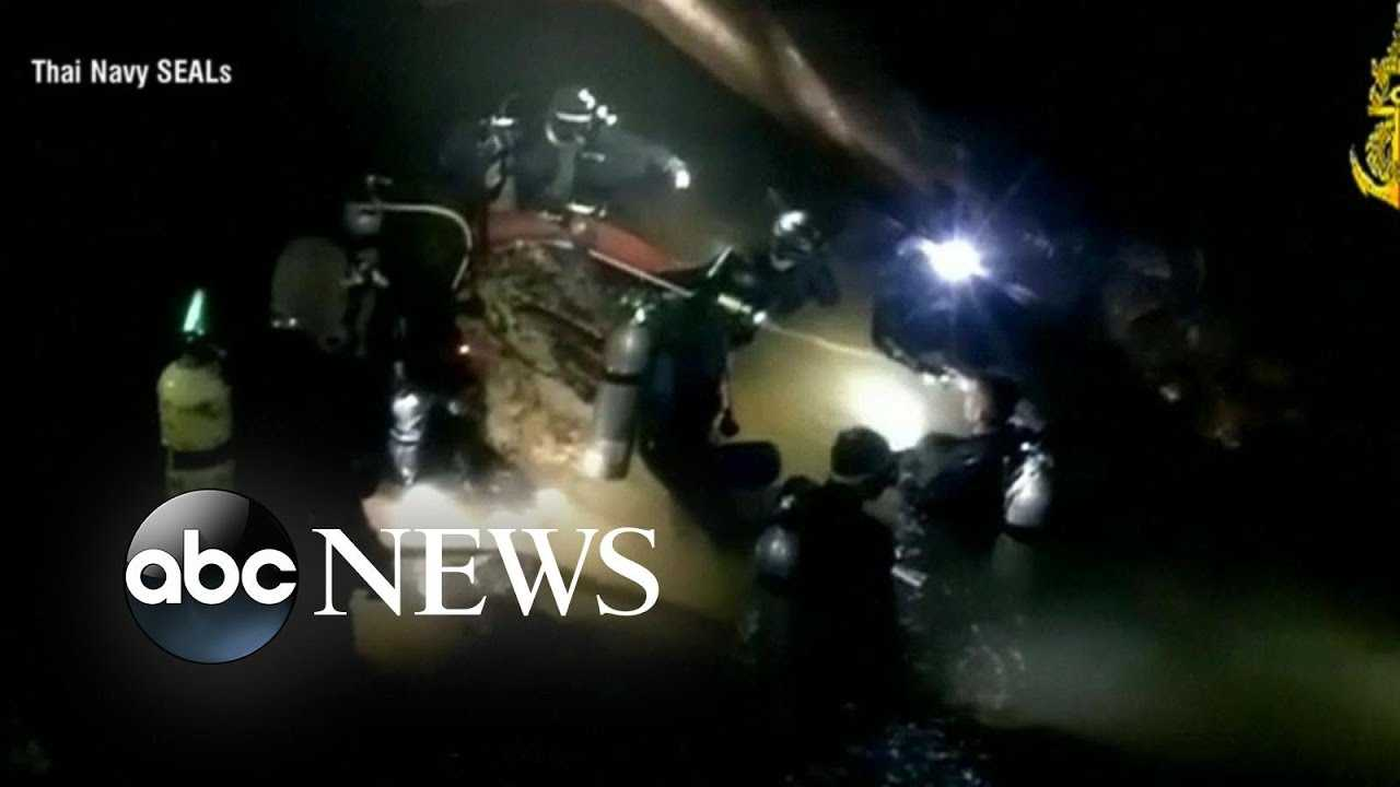 Rescue operation continues for boys, soccer coach in Thailand cave