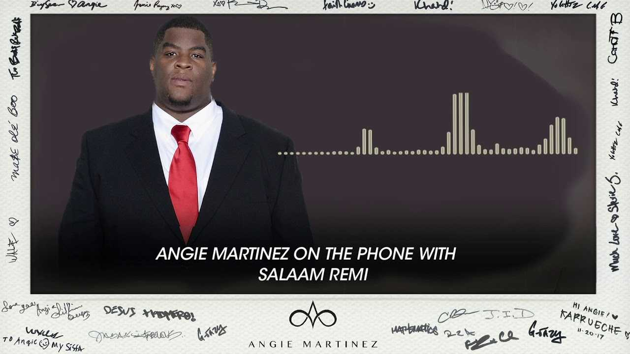 """Salaam Remi To Angie: """"We're Having A Celebration!"""""""