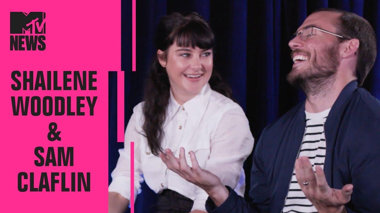 Shailene Woodley & Sam Claflin on 'Adrift', RuPaul's Drag Race & More! | MTV News