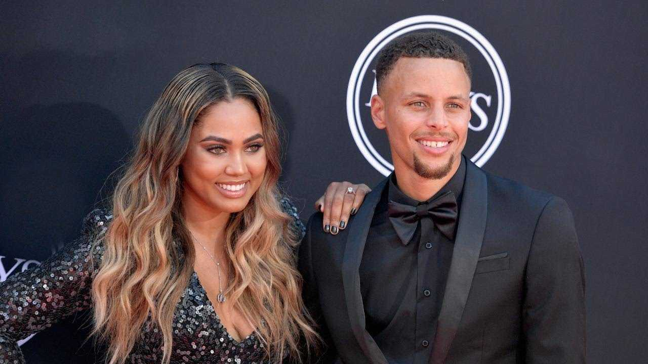 Steph and Ayesha Curry Welcome Son Canon With Heartwarming Pic