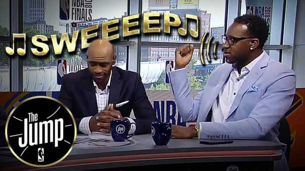 T-Mac Singing 'Sweep Songs' For Cavs & LeBron James | The Jump