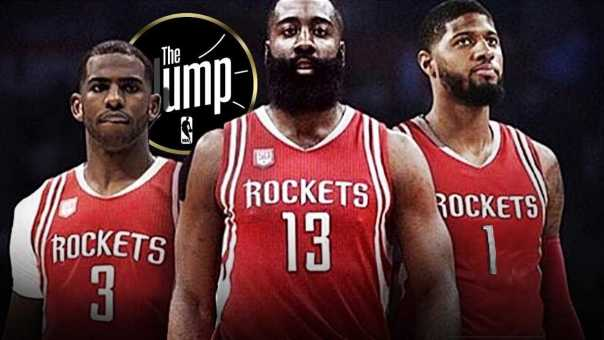 T-Mac Thinks Rockets With Paul George Can Knock Off Warriors | The Jump