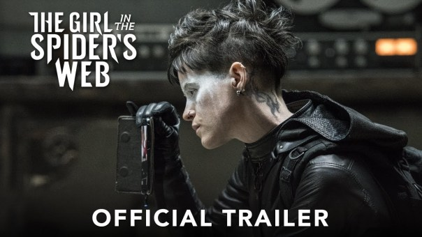 The Girl in The Spider's Web Trailer #1