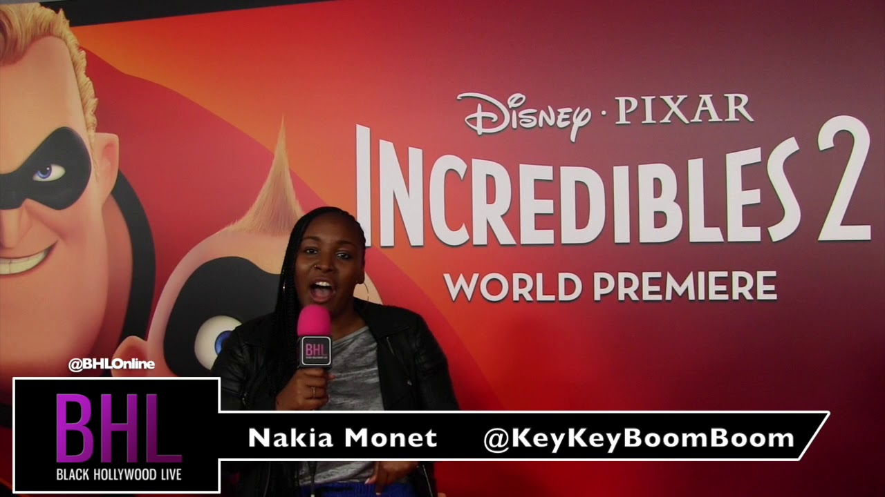 The Incredibles 2 World Premier in Hollywood | Nakia Monet