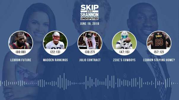UNDISPUTED Audio Podcast (6.19.18) with Skip Bayless, Shannon Sharpe, Joy Taylor   UNDISPUTED