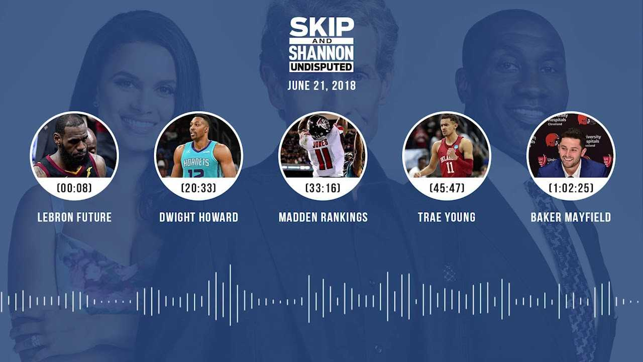 UNDISPUTED Audio Podcast (6.21.18) with Skip Bayless and Shannon Sharpe | UNDISPUTED