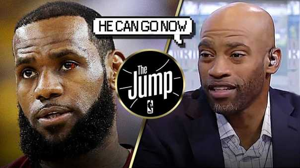 "Vince Carter On LeBron's Decision: ""He paid his dues to Cleveland"" 
