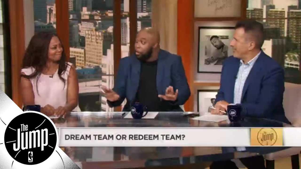 1992 Dream Team vs. 2008 Redeem Team: Which Team USA would win? | The Jump | ESPN