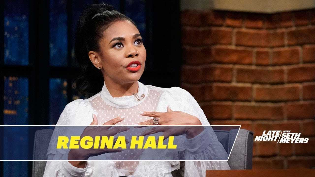 "Regina Hall Enjoys Eating at ""Breastaurants"""