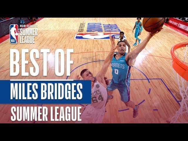 Best Of Miles Bridges   2018 MGM Resorts Summer League