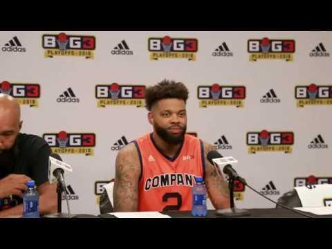 BIG3 Playoffs: 3s Company Postgame Interview