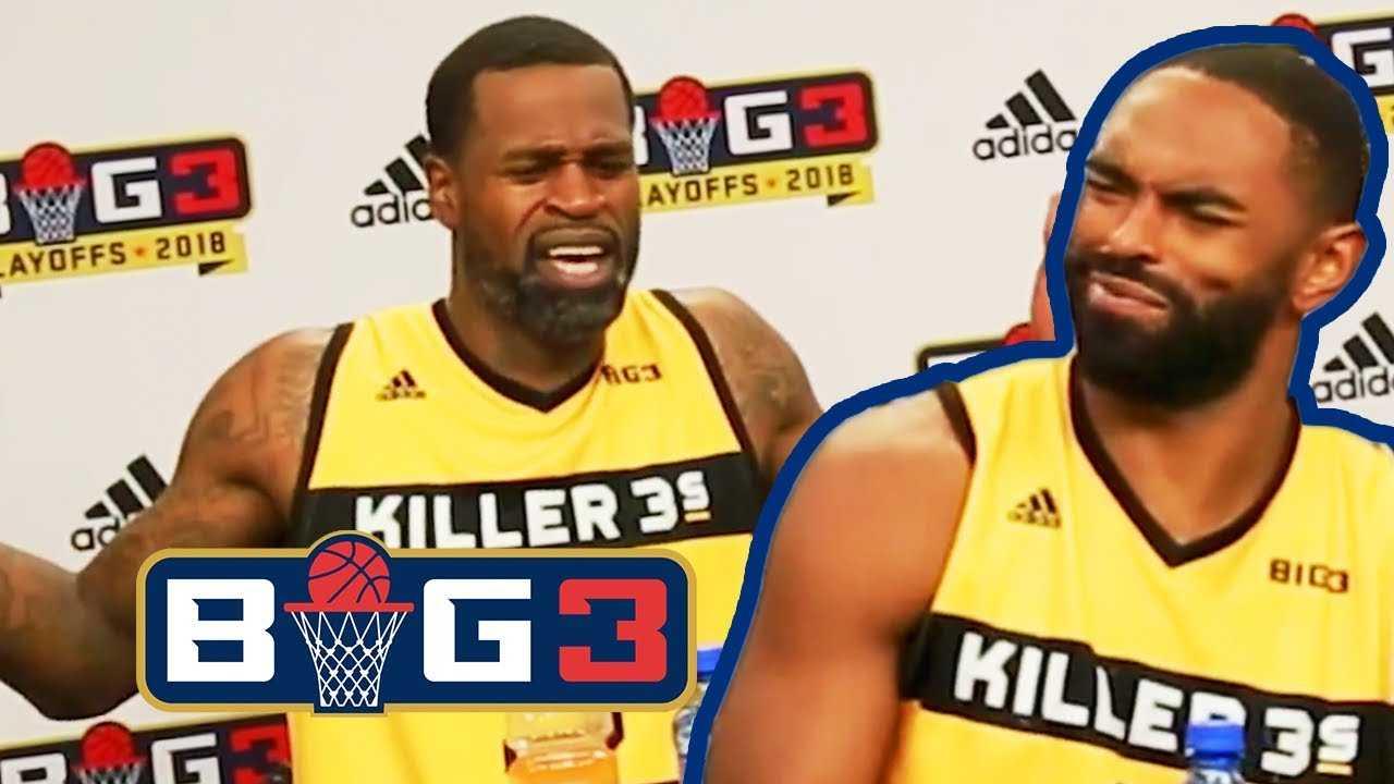BIG3 Playoffs: Stephen Jackson Sounds Off Postgame