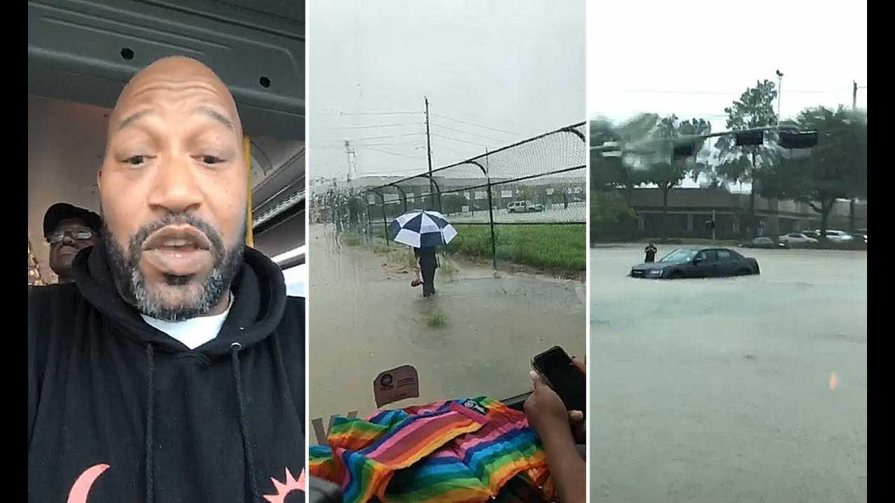 Bun B Stranded During Flash Flooding In Houston