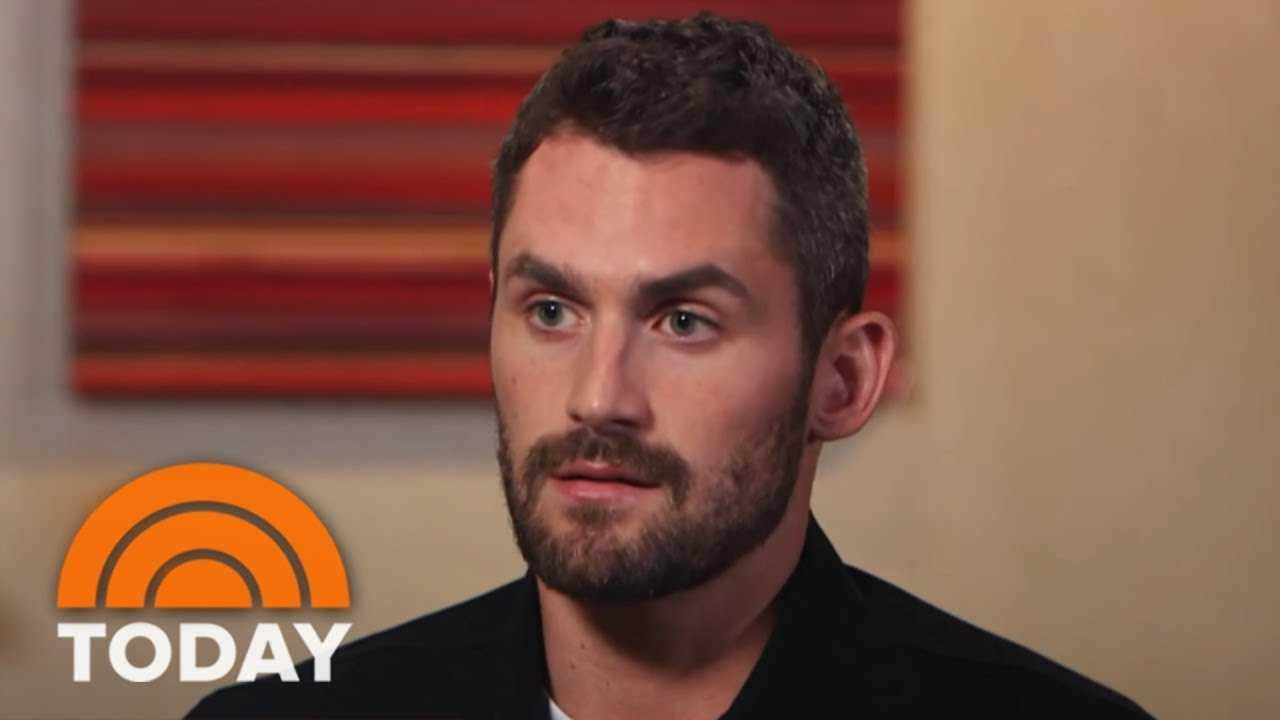 Carson Daly And NBA Star Kevin Love Have A Powerful Conversation About Men's Mental Health | TODAY