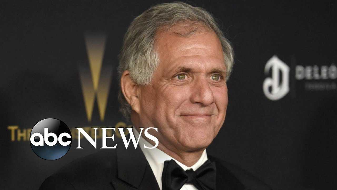 CBS chairman Les Moonves faces allegations of sexual misconduct