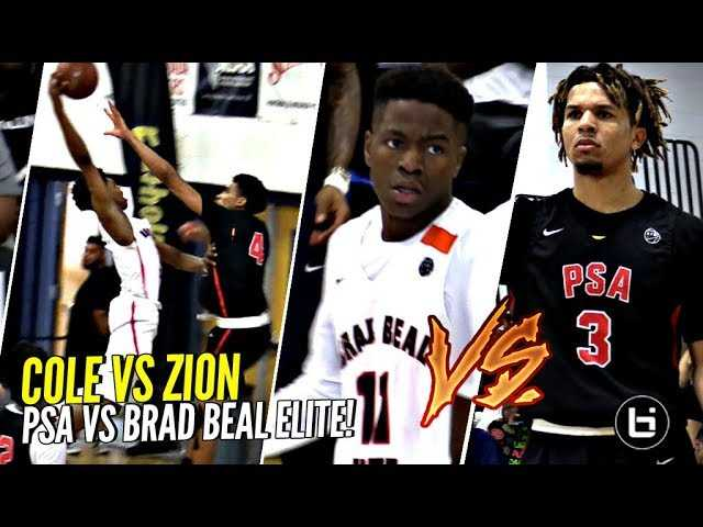 Cole Anthony vs Zion Harmon w/ Brad Beal COACHING!! STACKED TEAMS BATTLE!