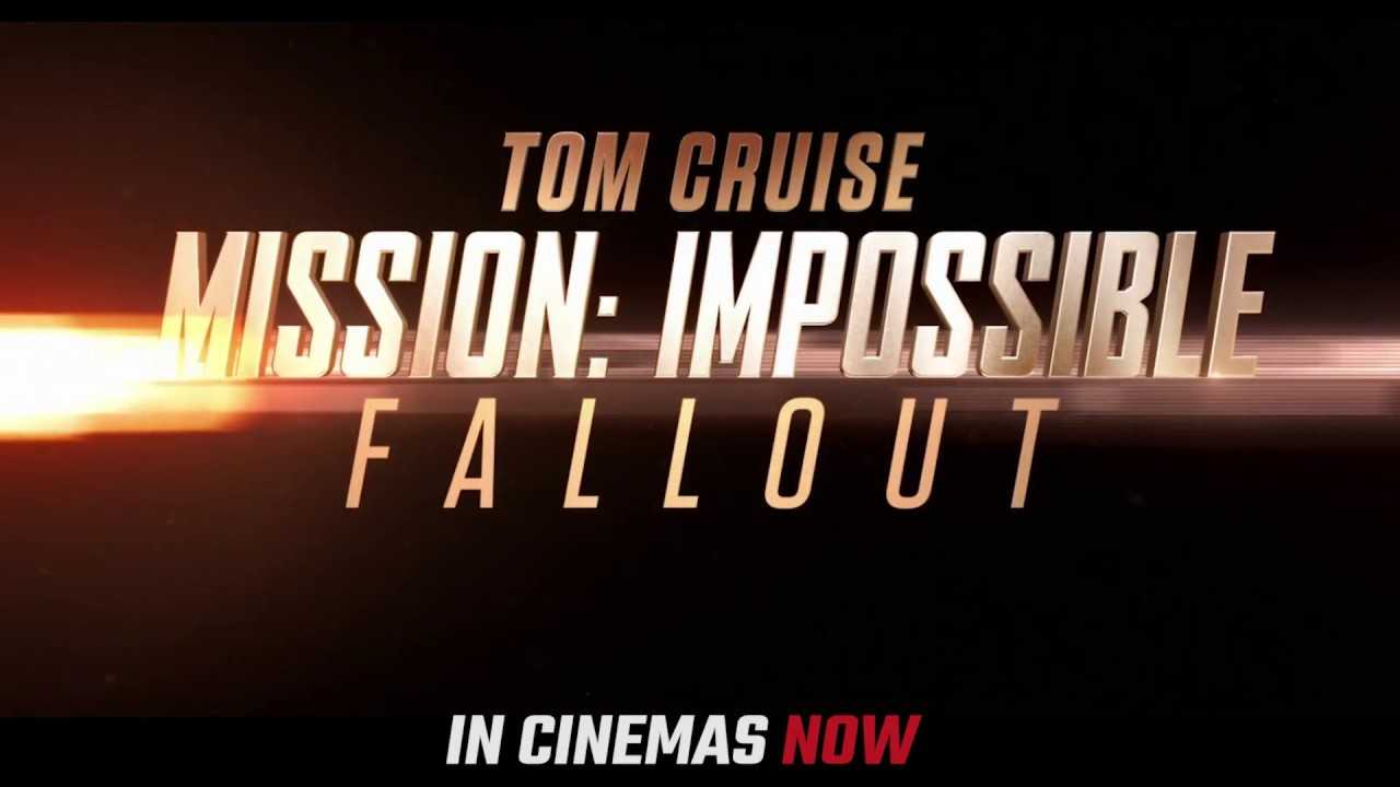 Don't miss a beat of the the action. #MissionImpossible