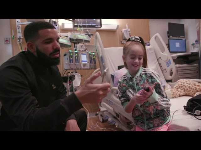 Drake Surprises Young Heart Patient in Chicago