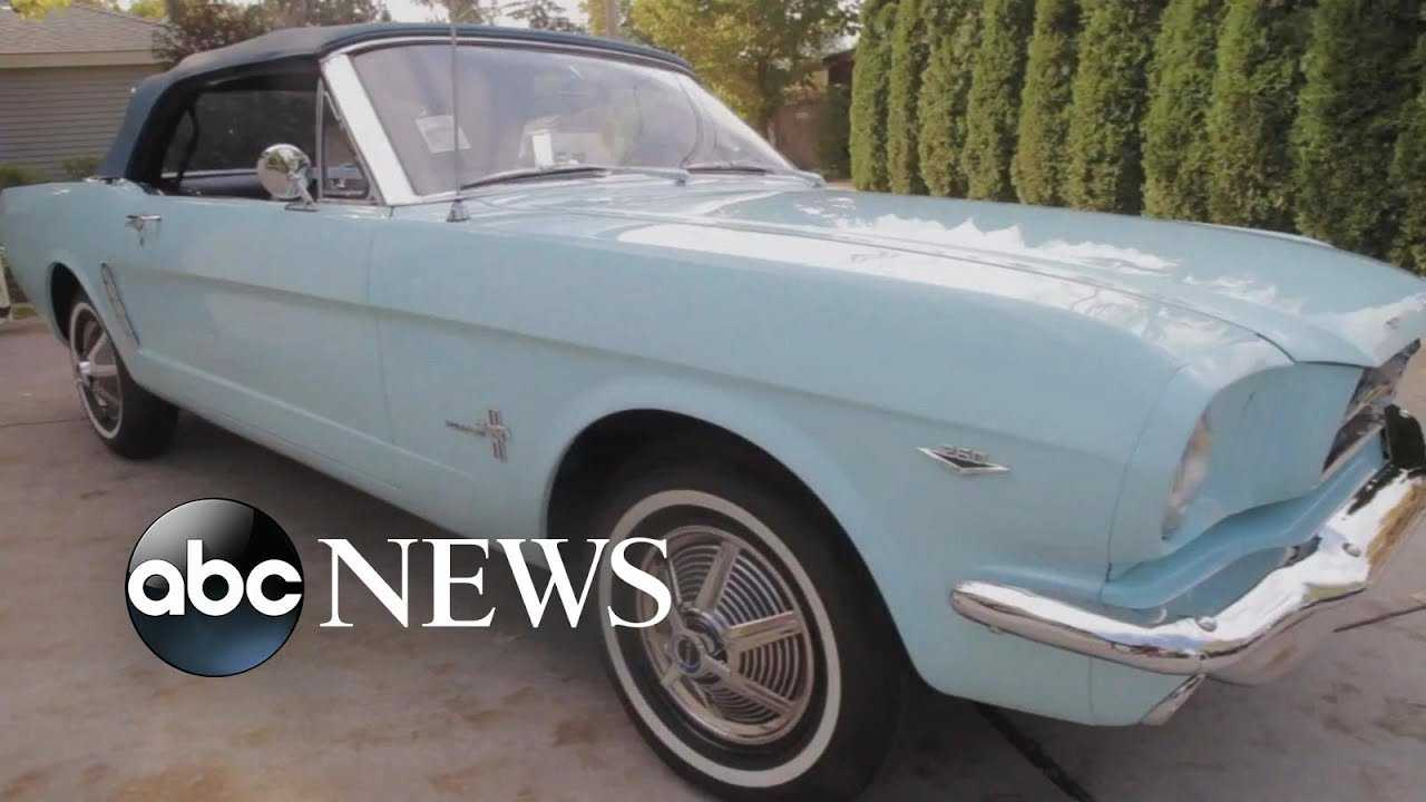 First Mustang ever sold to be on display by Ford in Michigan