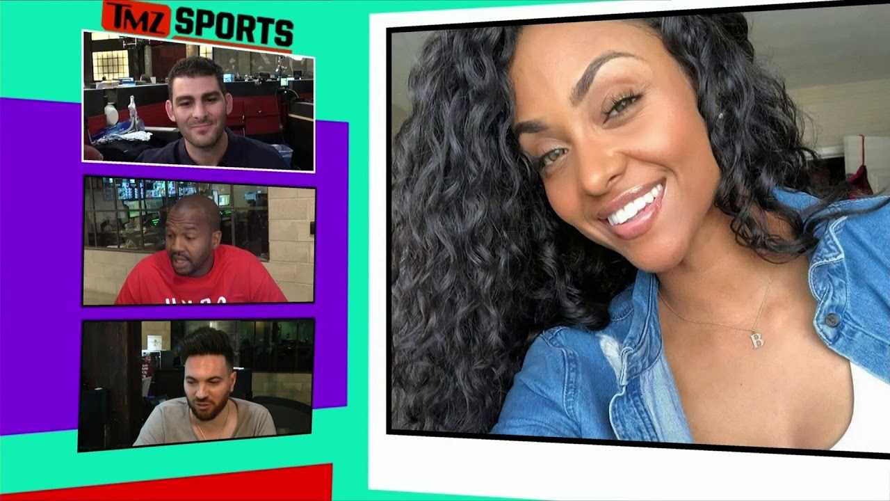 Floyd Mayweather Blocked By 'Wild 'N Out' Model at Celeb Basketball Game | TMZ Sports