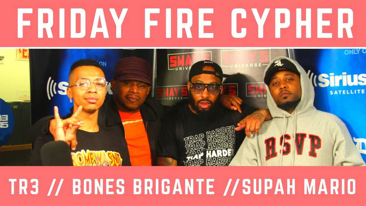 Friday Fire Cypher: TR3 & Bones Brigante Freestyle Over Supah Mario Beats