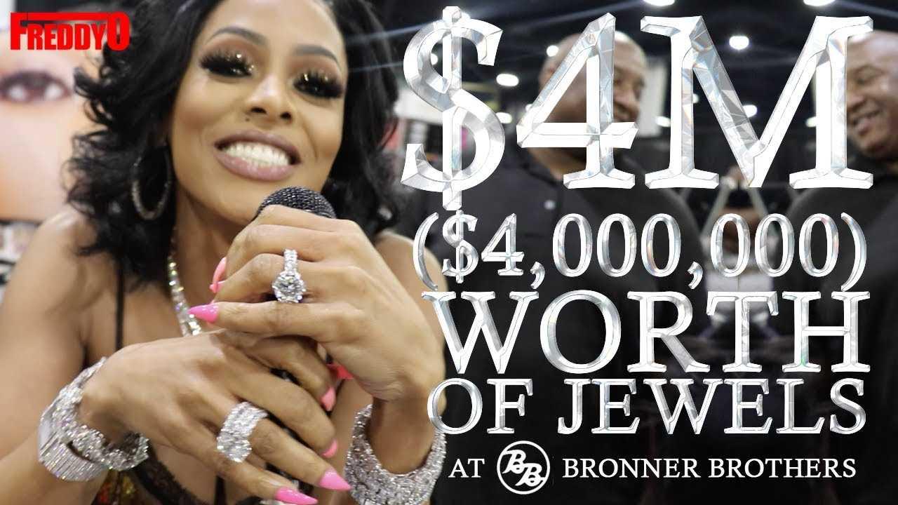 Gucci Manes Wife Keyshia Ka Oir Shows 4 Million Dollars Worth Of