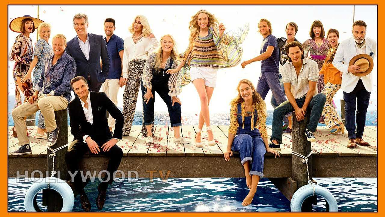 Hear from the cast of Mamma Mia! Here We Go Again - Hollywood TV