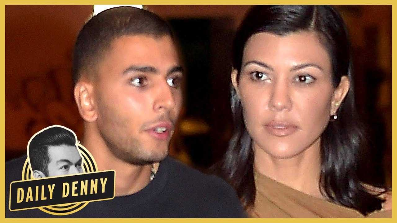 Kourtney Kardashian Splits From Younes Bendjima | #DailyDenny