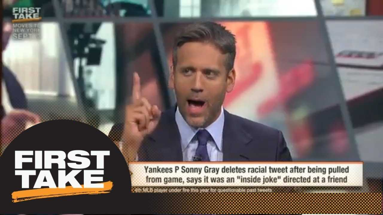 Max and Stephen A. react to Sonny Gray's response to racial tweet | First Take | ESPN